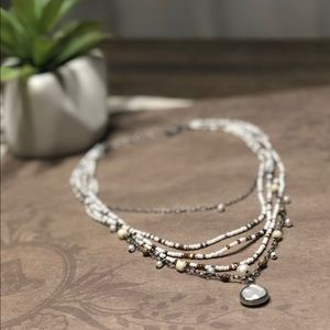 Silpada multi-strand necklace